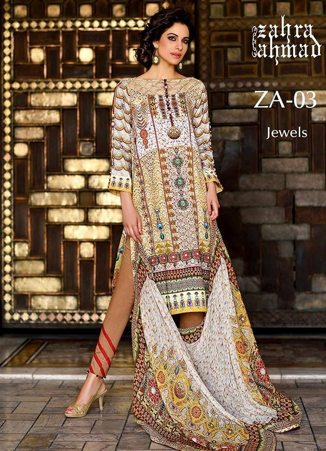 Zahra Ahmad Is One Of The Famous Fashion Designers Of Pakistan Carry The Sophisticated Clothes Mak Fashion Designers Famous Beautiful Pakistani Dresses Fashion