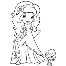 20 Beautiful Strawberry Shortcake Coloring Pages For Your Little