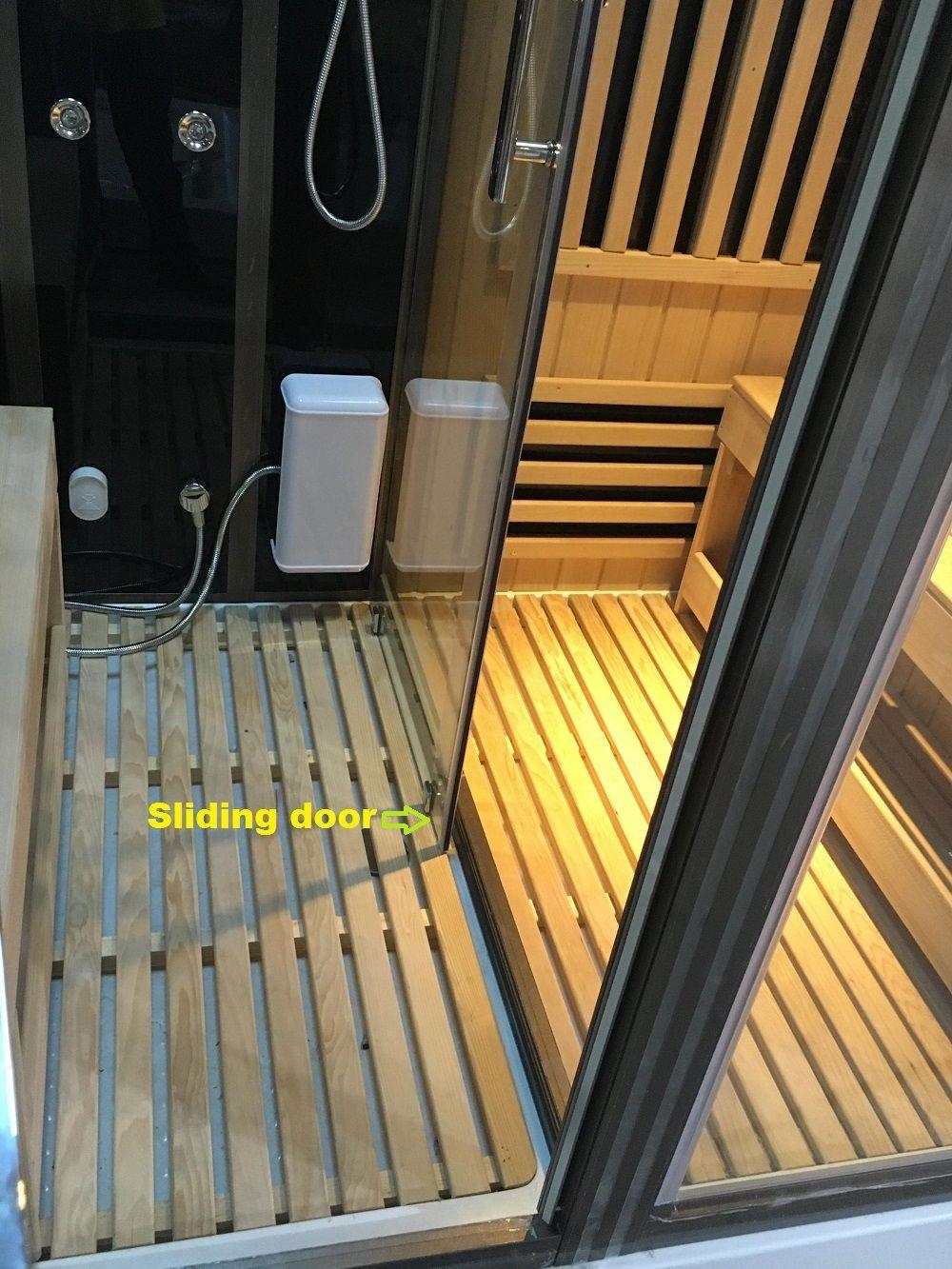 Infrared Sauna Steam Shower Combination Infrared Sauna Sauna