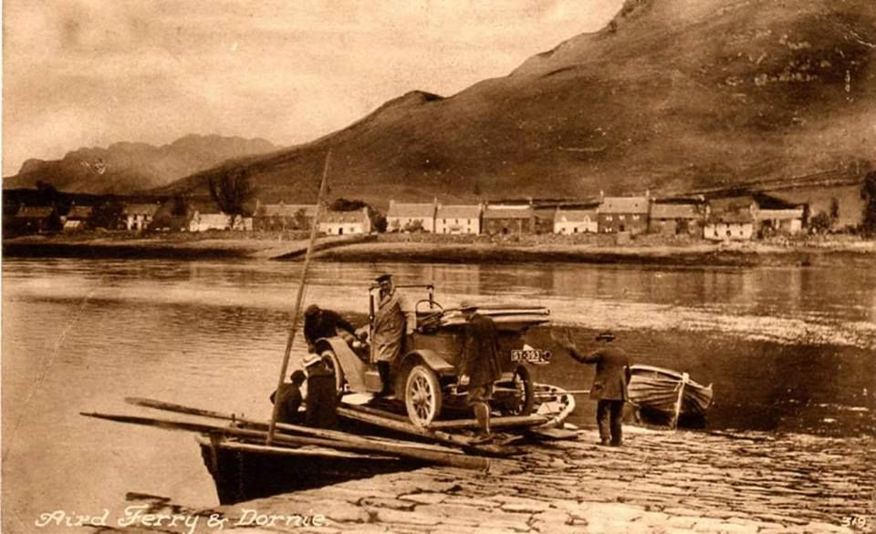 Aird ferry & Dornie