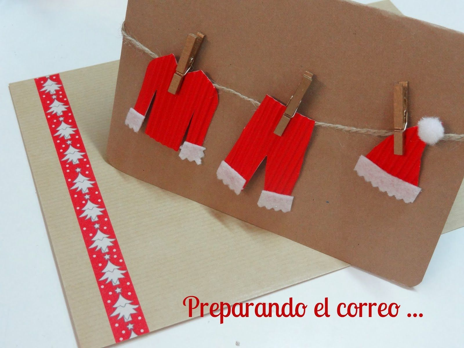 Un blog repleto de ideas creativas adornos navidad - Postales navidenas creativas ...