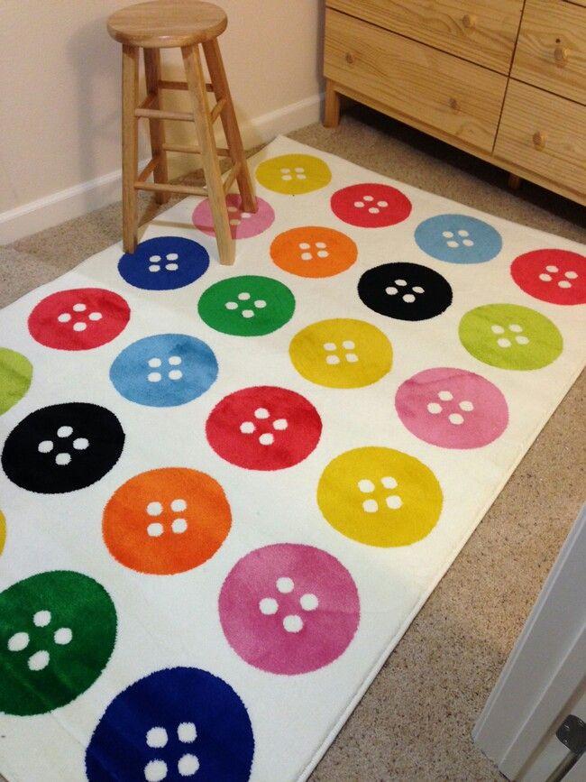button rug