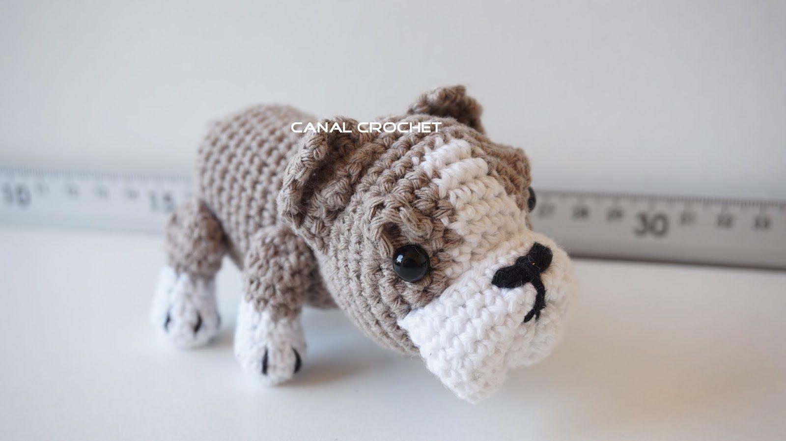 Bulldog dog amigurumi tutorial   Crocheting fun!   Pinterest