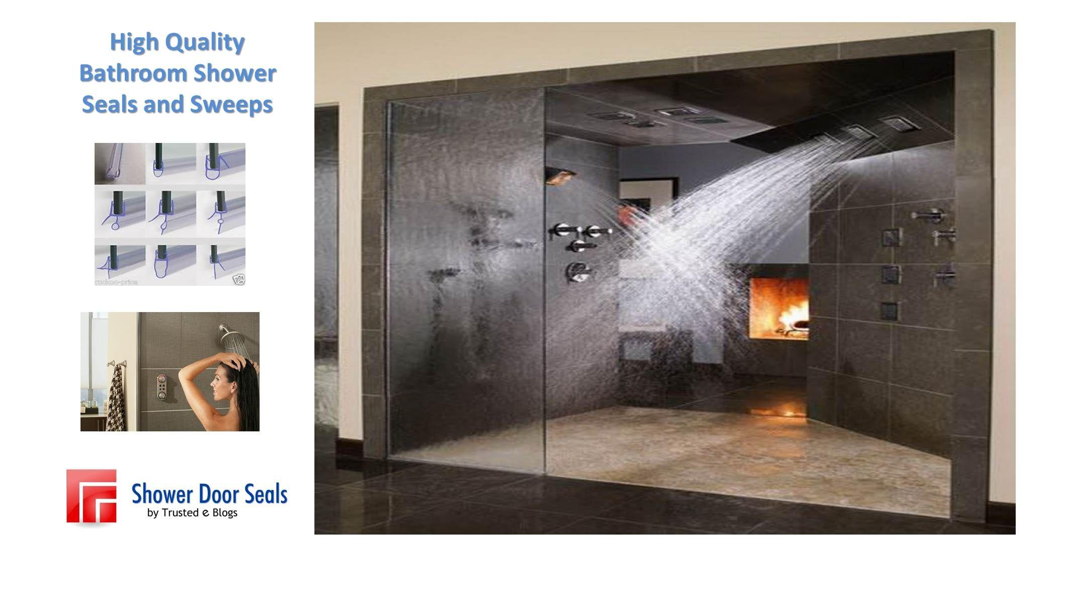 Premium Quality Shower Door Seals And Sweeps Repair Your Shower