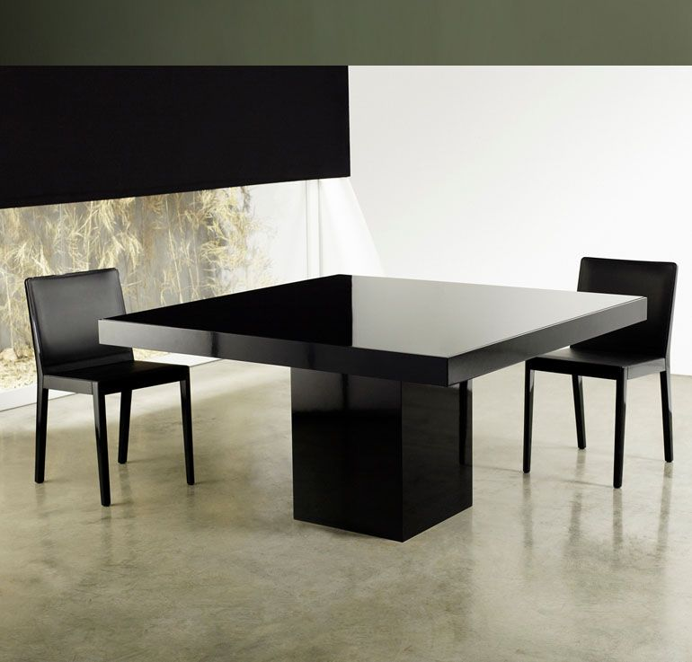 Beech Square Dining Table for Sale features central base