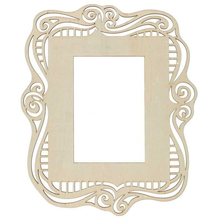 4 X 6 Natural Laser Cut Wood Frame Hobby Lobby 1170513