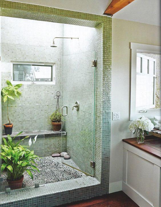 apartment therapy: shower, skylight, plants: | Zen bathroom ... on zen bathroom jacuzzi, zen flooring, zen bathroom furniture, zen bathroom sinks, zen bath, zen bathroom windows, zen decks, zen bathroom faucets, zen bathroom light fixtures, zen bathroom vanity, zen bathroom lighting, zen shower curtains, zen bathroom mirrors, zen bathroom colors, zen tub, zen bathroom remodeling ideas,