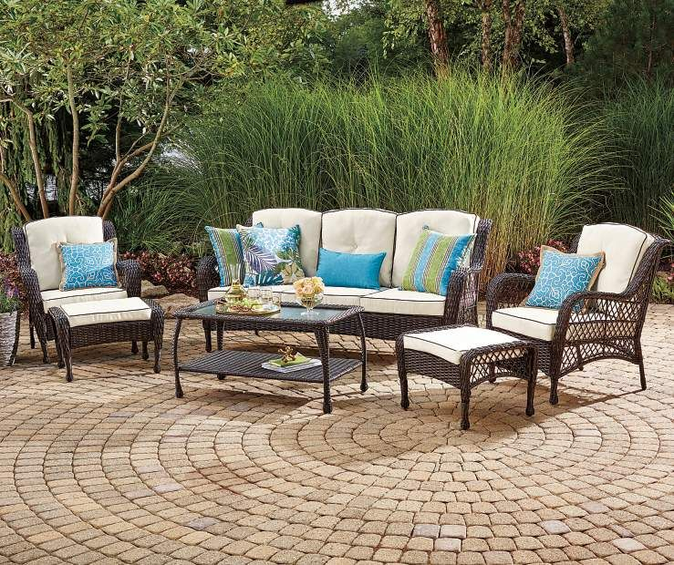Buy A Wilson U0026 Fisher Barcelona Resin Wicker Patio Seating Collection At  Big Lots For Less. Shop Big Lots Patio Sets U0026 Chairs In Our Department For  Our ...