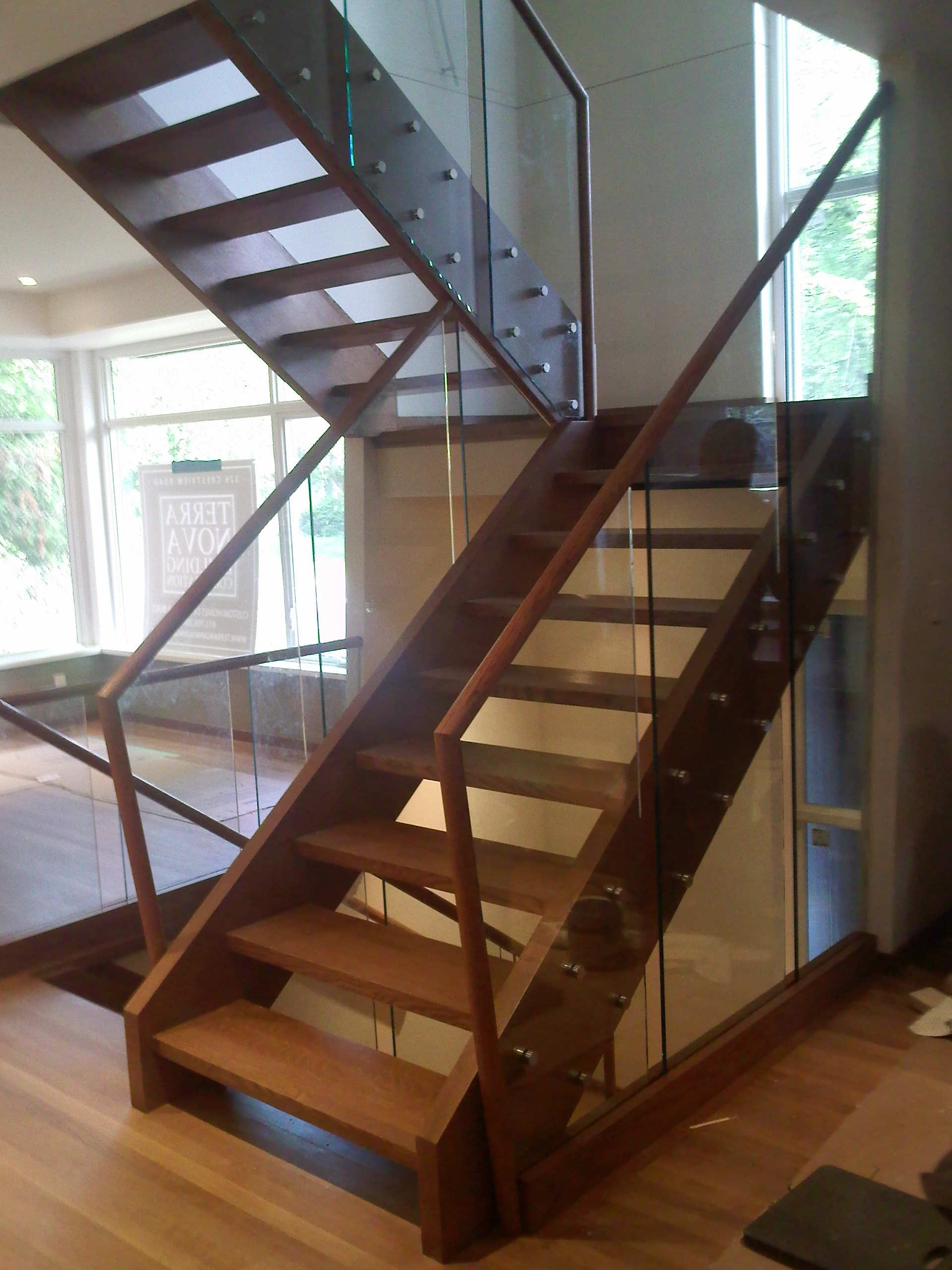 Beautiful Residential Glass Railing Install.