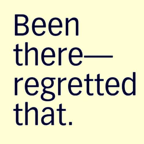 Been there - Regretted that.  #Etsy #Danahm1975 #Jewelry