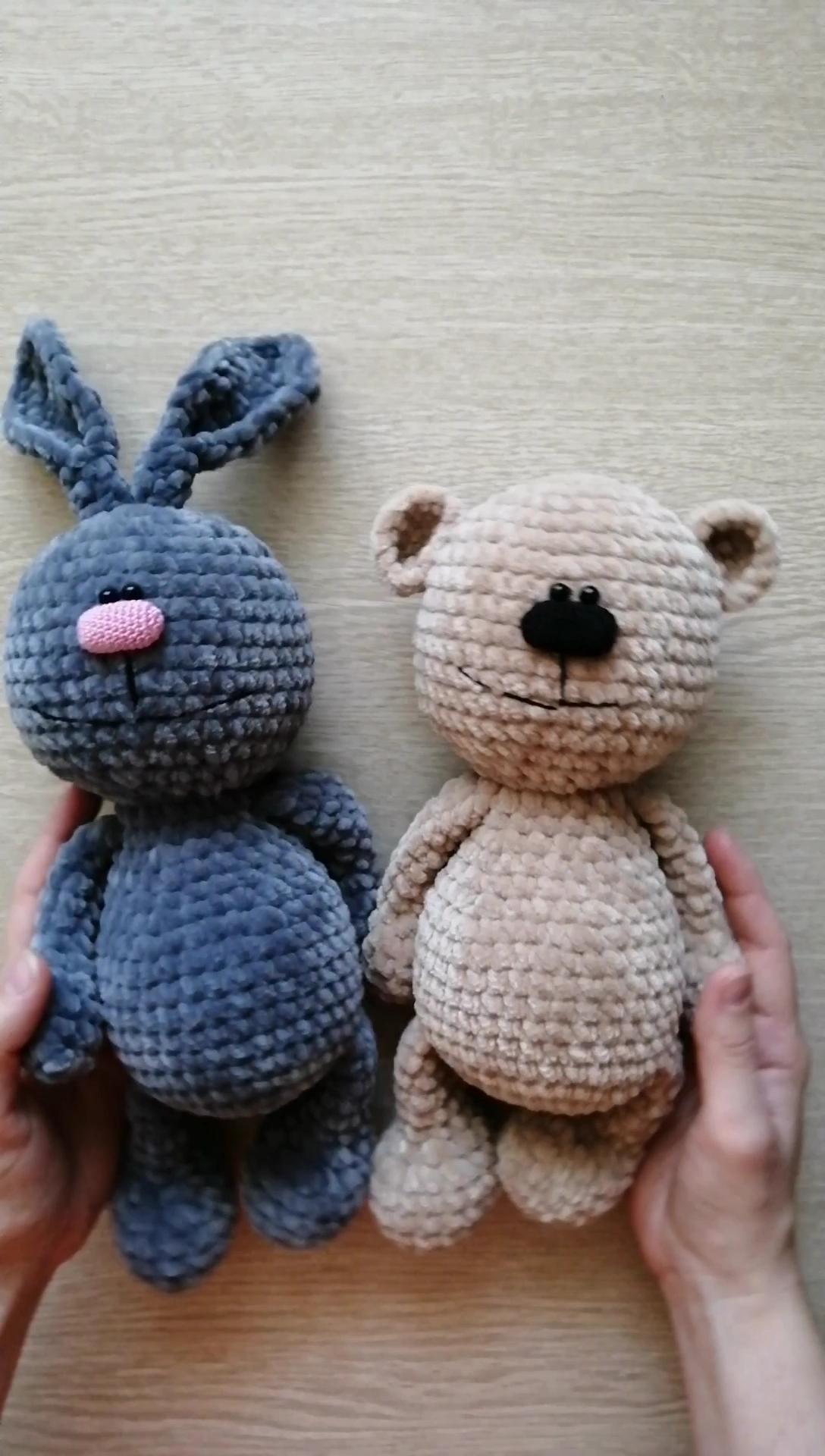 Amigurumi Bunny Free Crochet Pattern   Crochet bunny pattern ...   1920x1088