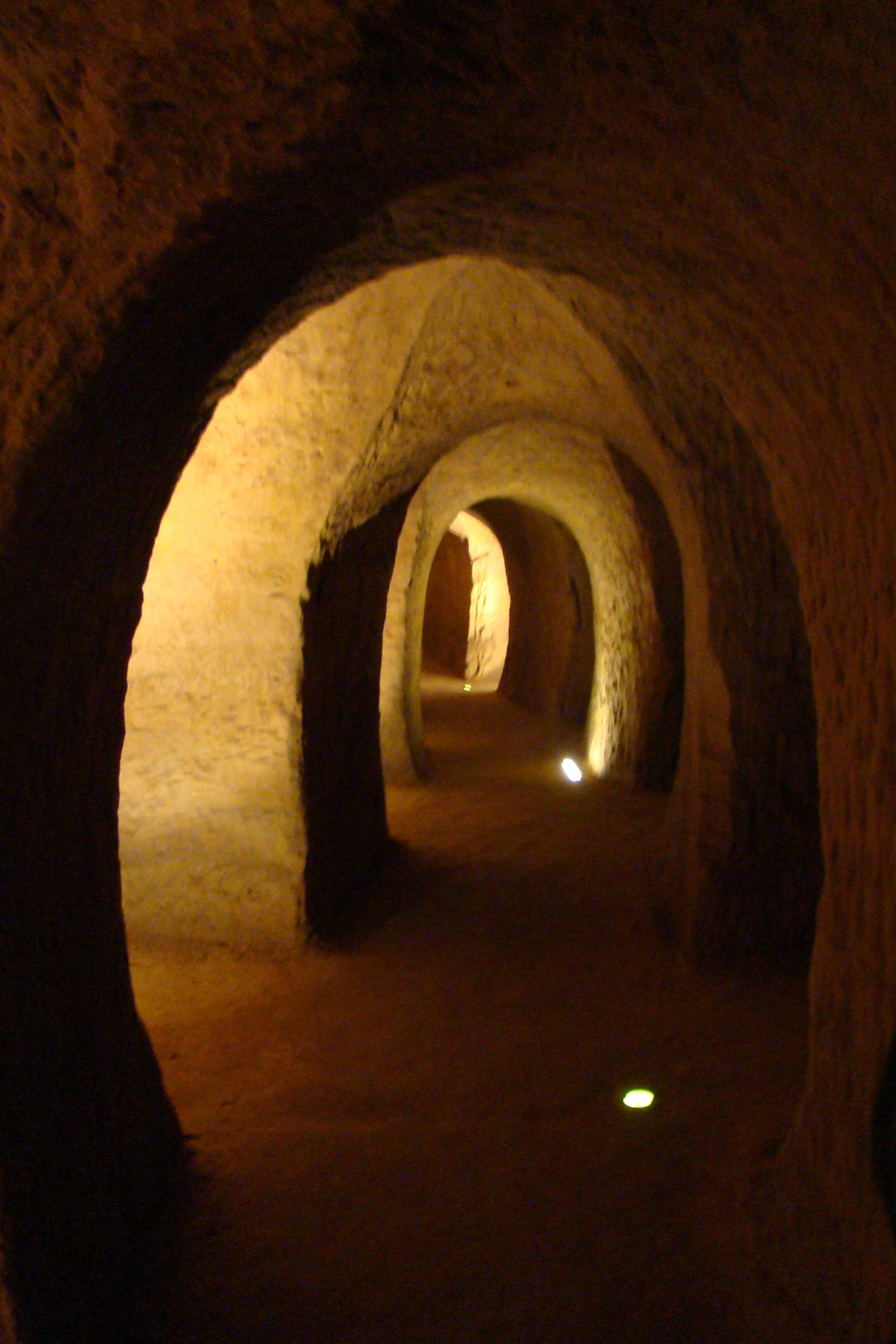 The Osimo underground tunnel network - Grotte di Osimo