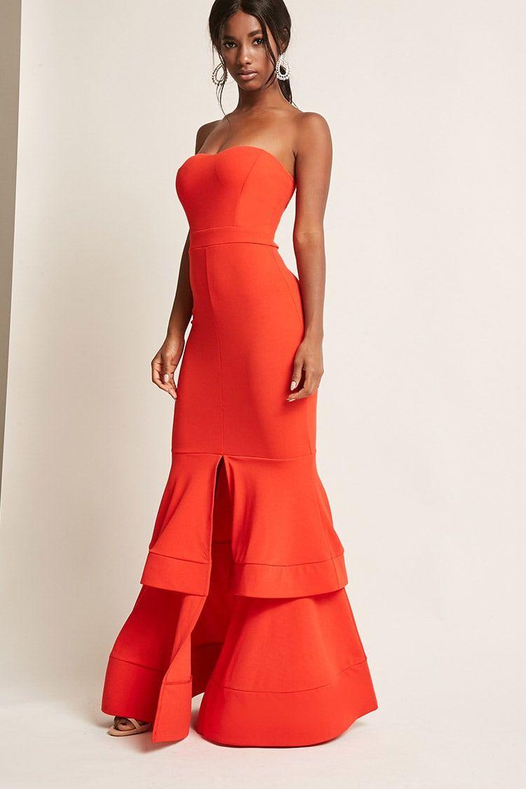 4f70ef4b42 Product Name Tiered Mermaid Tube Dress