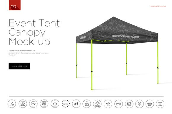 Event Tent Canopy Mock-up FREE demo  sc 1 st  Pinterest & Event Tent Canopy Mock-up FREE demo | Mockup