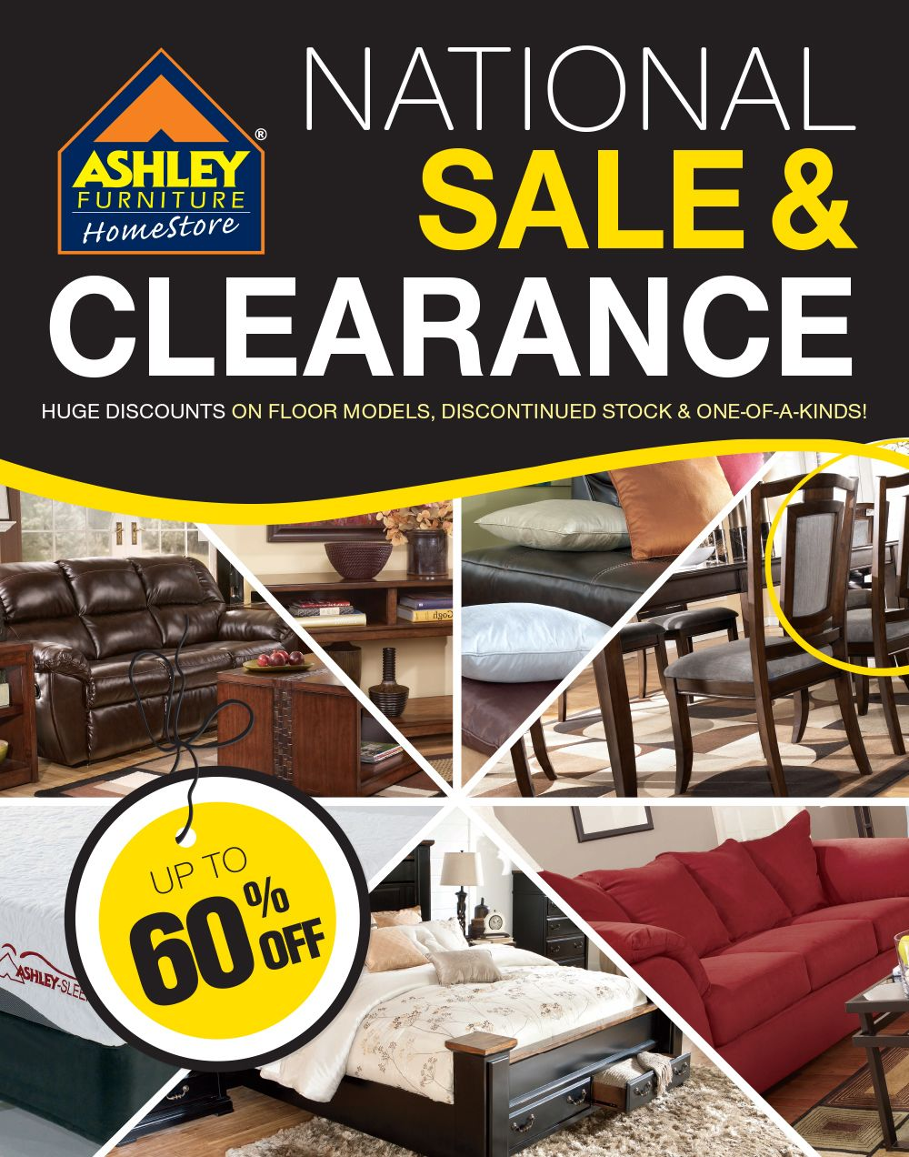 National Sale And Clearance On Floor Models, Discontinued Items And One Of  A Kind Pieces. At Your Store In Richland, WA Valid July 2012   August 2013