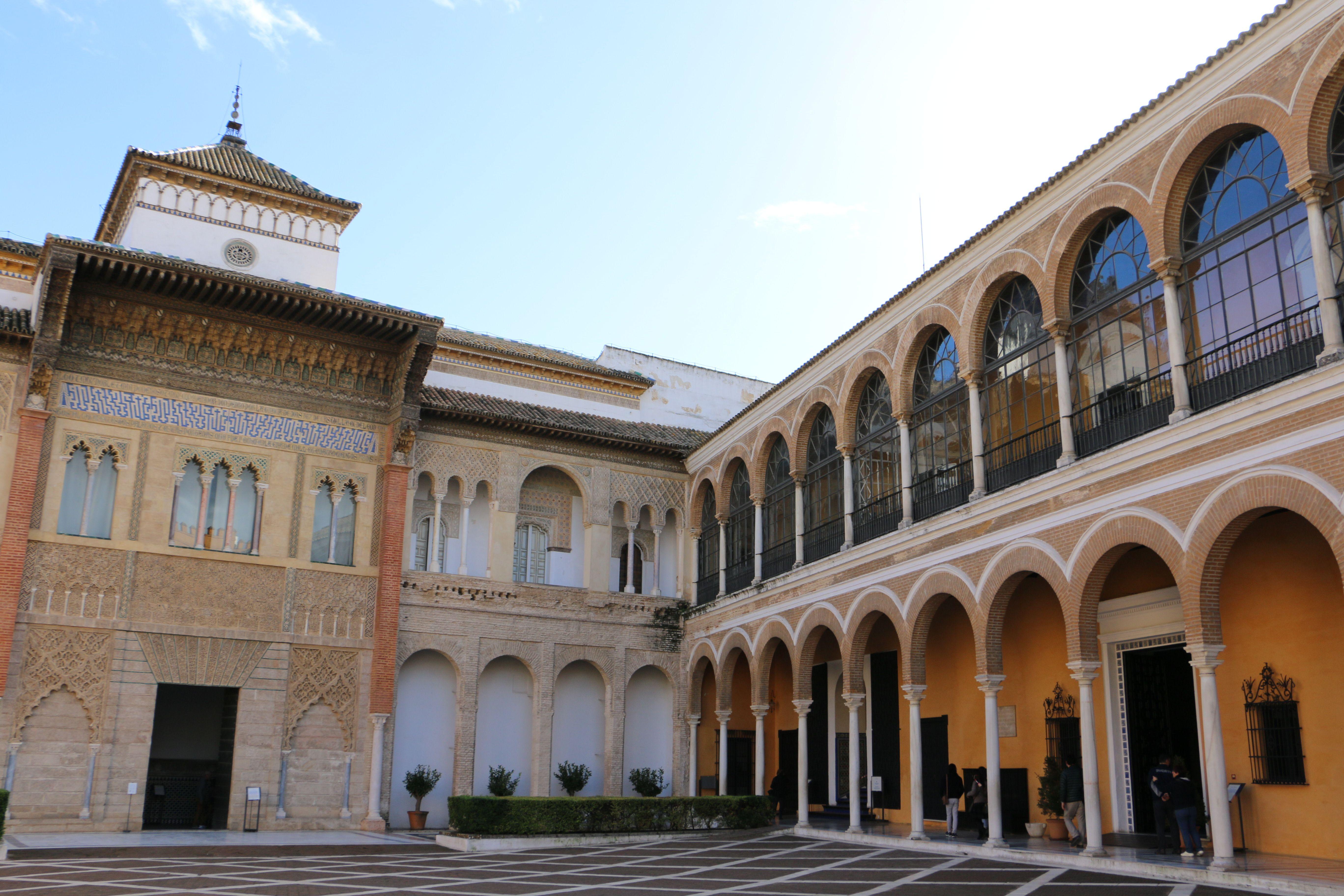 Reales Alcázares in Seville, Spain Sevilla, Casas, Casas