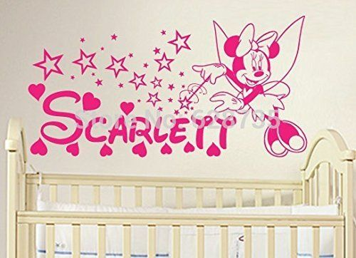 New Arrival DIY Minnie Mouse Vinyl Decal Sticker Minnie Mouse - Custom vinyl wall decals diy