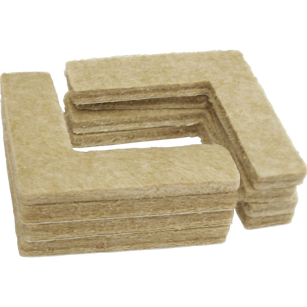 1 1 2 Inch Heavy Duty Self Adhesive Corner Felt Pads 8 Pack