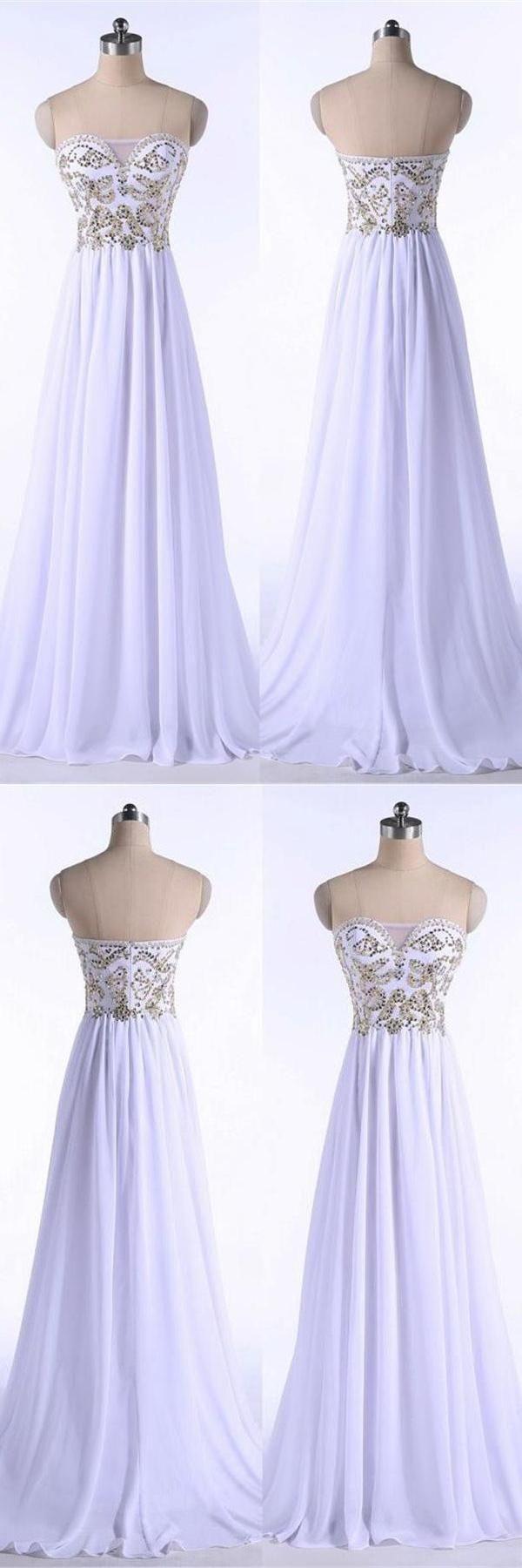 Prom dresses white cheap prom dresses prom dresses chiffon prom