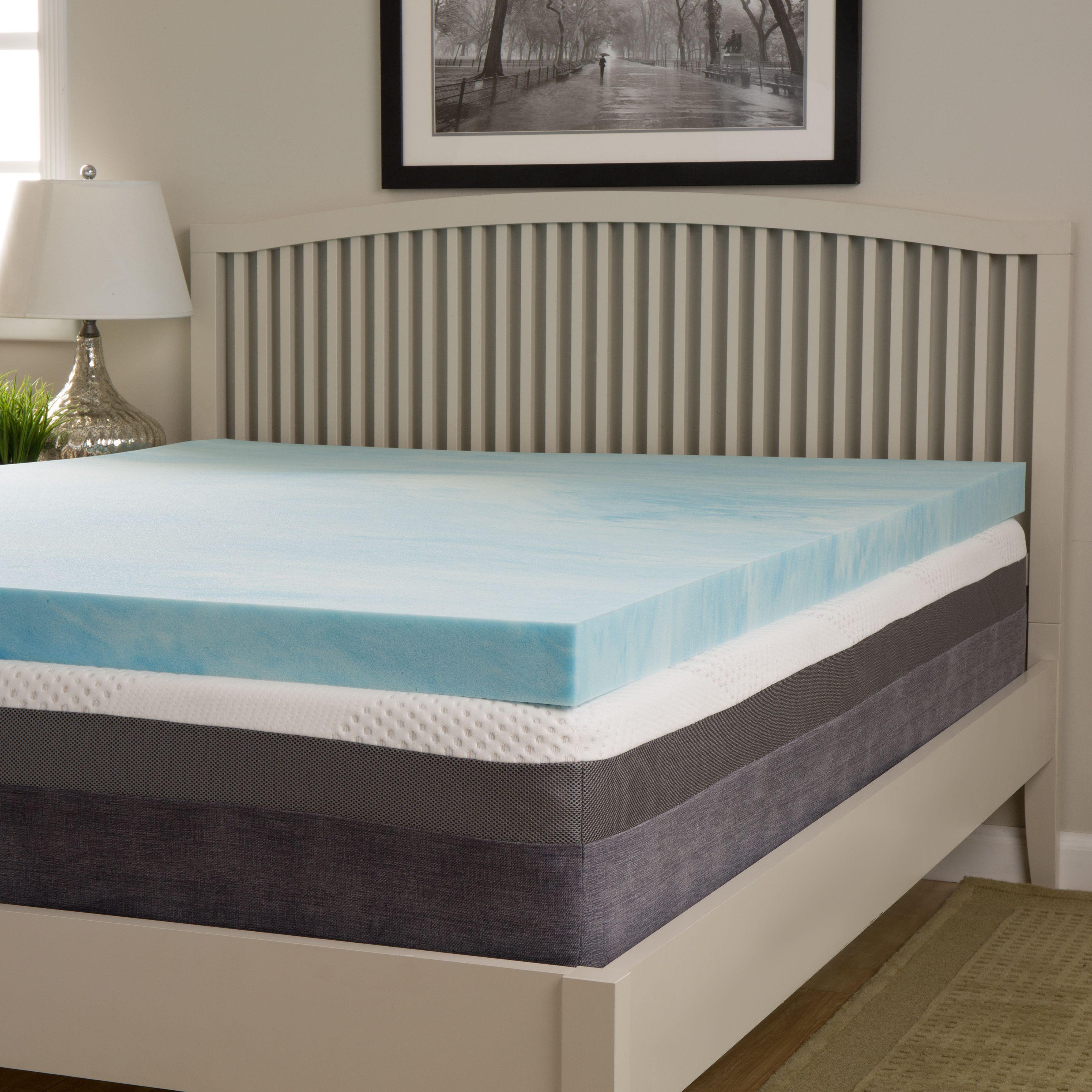 Slumber Solutions Choose Your Comfort 2 Inch Gel Memory Foam