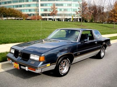 1987 Oldsmobile 442 Coupe Oldsmobile 442 Oldsmobile Chevy Muscle Cars
