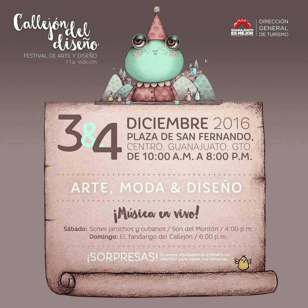 Póster para Callejón del diseño. #illustration #bazar #Mexico