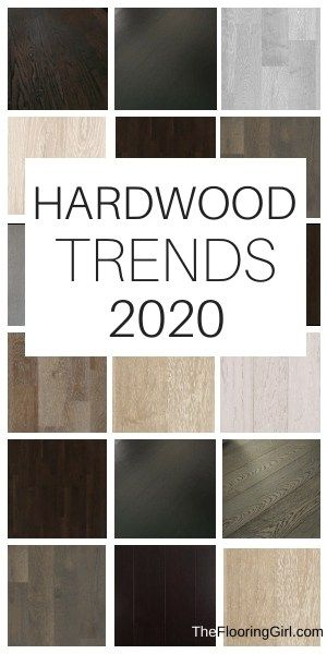 2020 hardwood flooring trends. See what's popular and stylish in terms of stain colors, finishes and textures.#2020 #hardwood #flooring #trends #homedecor #hardwoodflooring #floors #homedecortrends