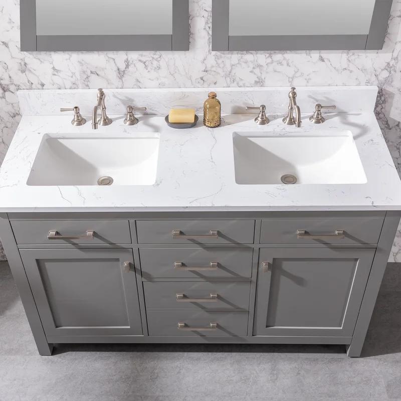 18++ 54 inch bathroom vanity cabinet best