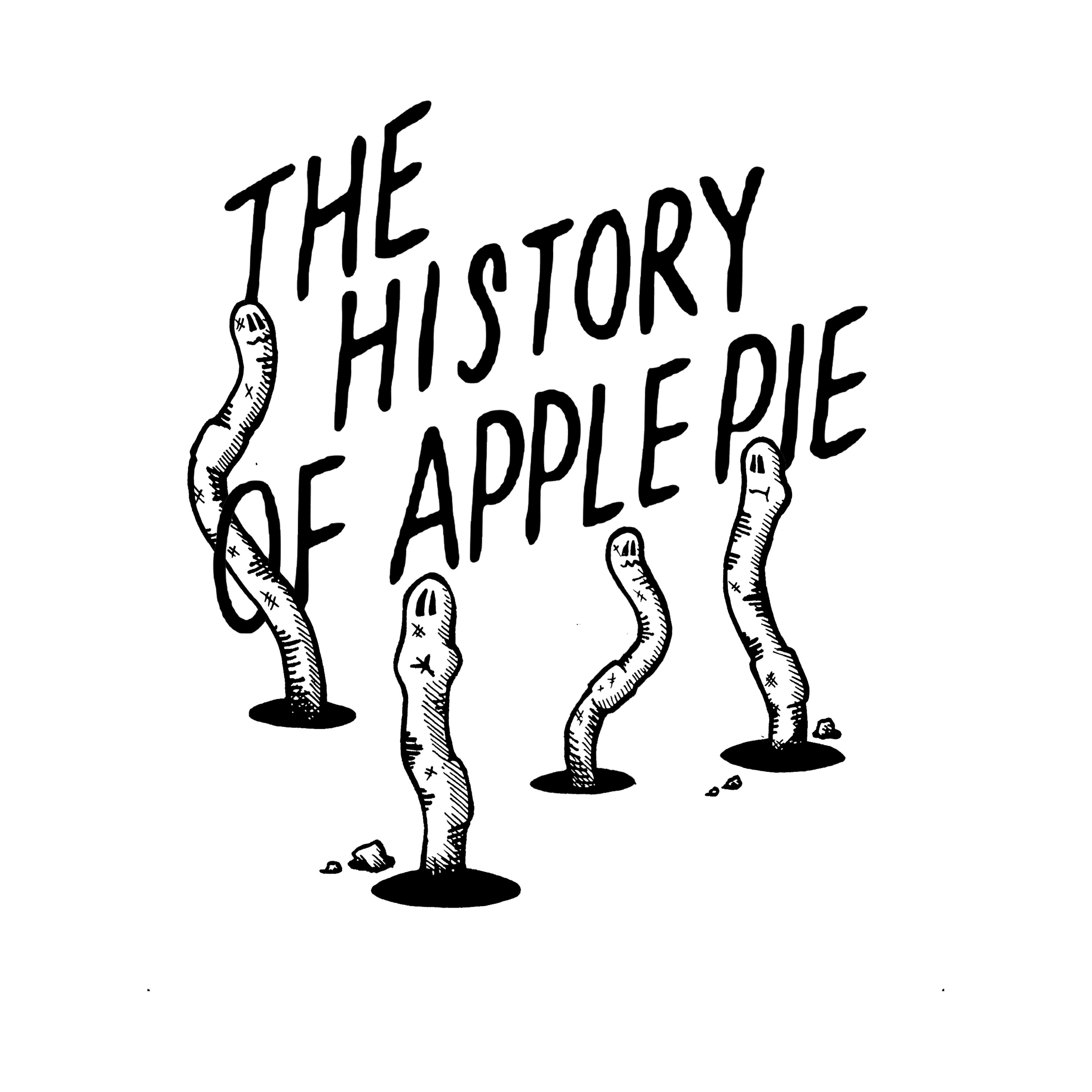 History of Apple Pie tshirt No.2 Enquiries Contact me on