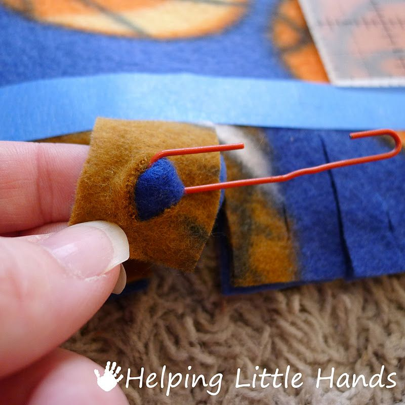 Helping little hands double layered nosew braided