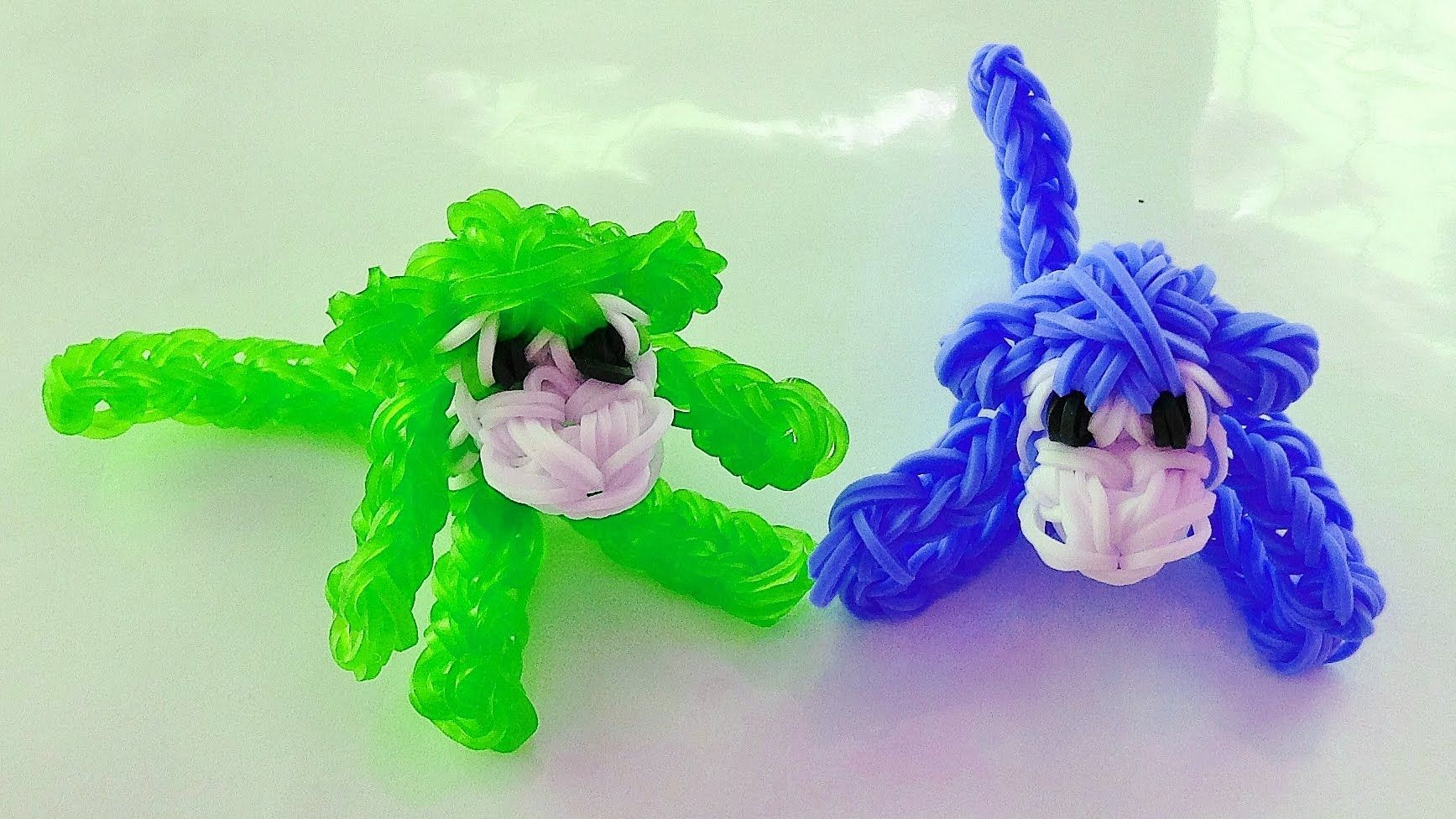 rainbow loom singe animaux en elastique loom bands. Black Bedroom Furniture Sets. Home Design Ideas