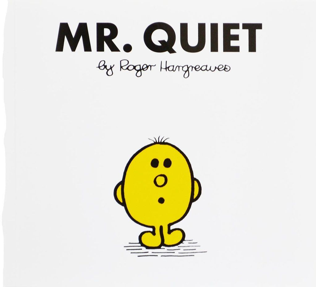 Mr Quiet by Roger Hargreaves [Mr Men Classic Library] (Paperback ...
