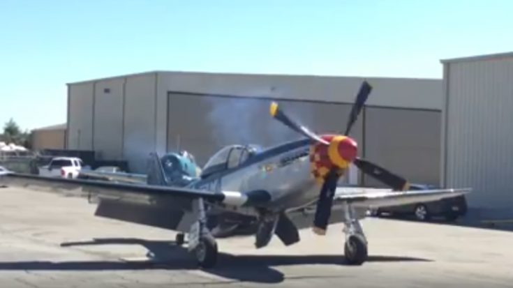 P-51 Mustang Startup – The Sound Will Give You Goosebumps!
