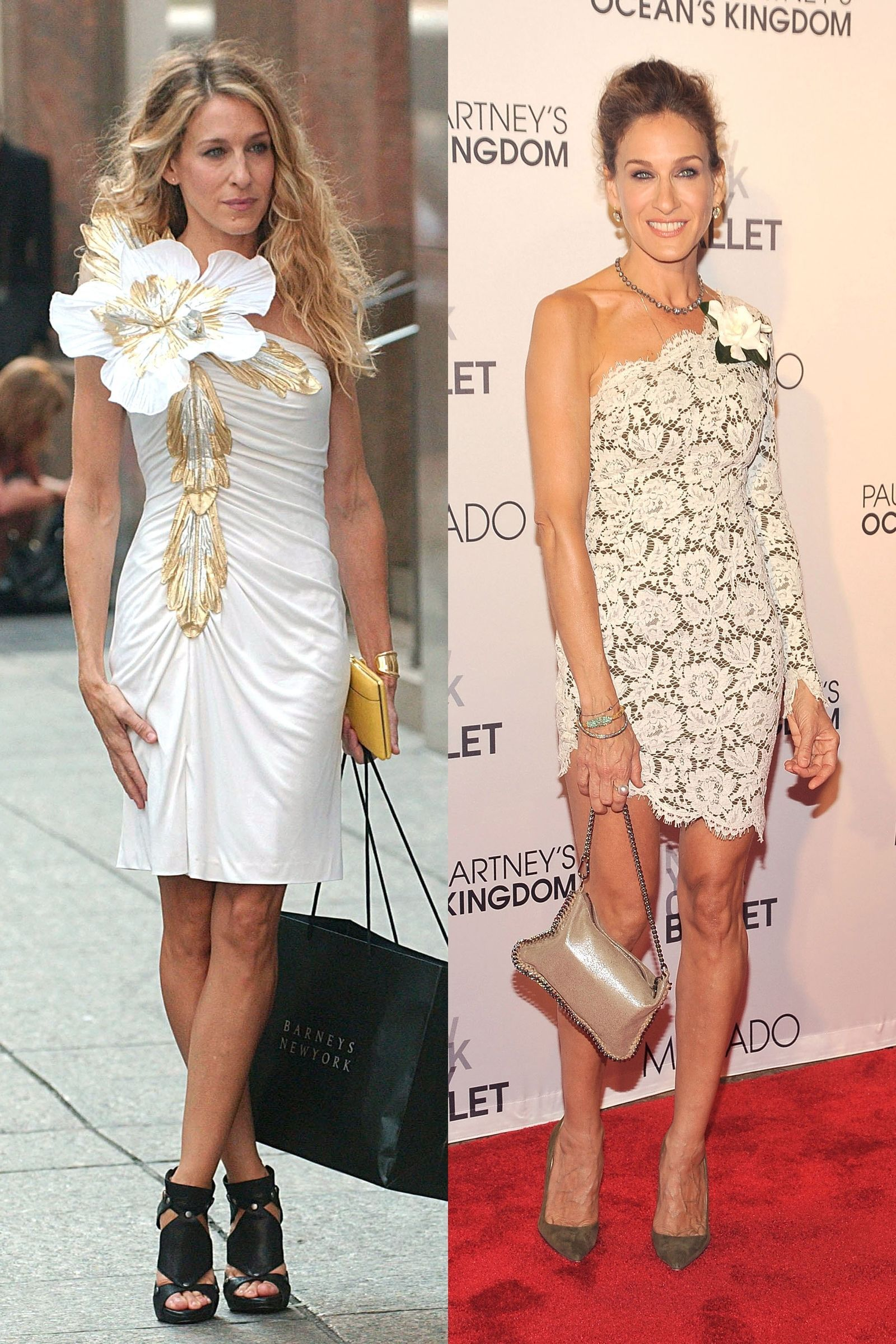 times sarah jessica parker dressed like carrie bradshaw in real