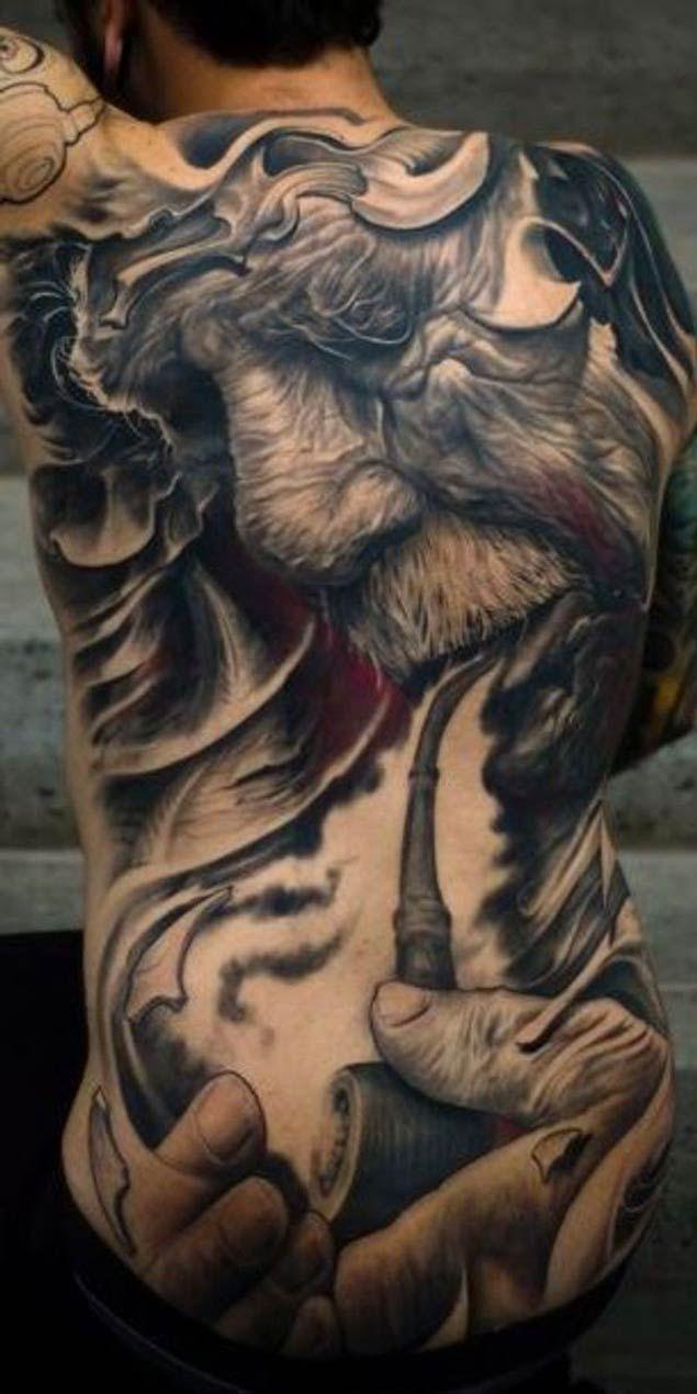 Full Back Tattoos Artworks Irezumi Tattoos