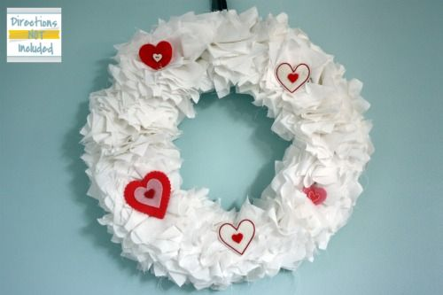 Photo of Fabric Ruffled Valentine's Day Wreath {From Directions Not Included} – How to Nest for Less™