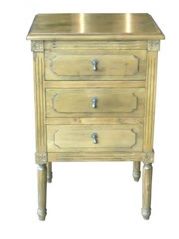 Small Antique Bedside Table Can Become A Good Assistant In Your Bedroom!