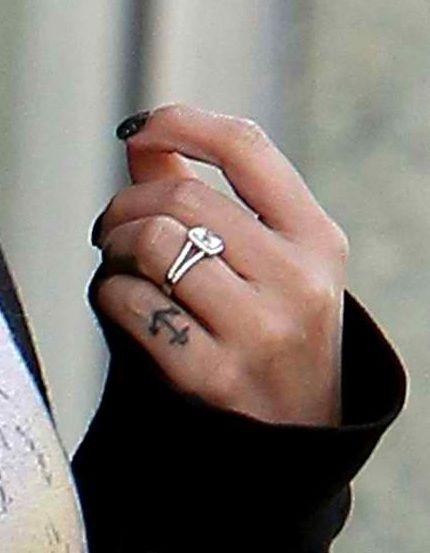 Brenda Song Engagement Ring Tattoo Wedding Rings Celebrity Wedding Rings Celebrity Engagement Rings
