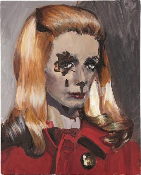 Dawn Mellor, Catherine Deneuve, 2005