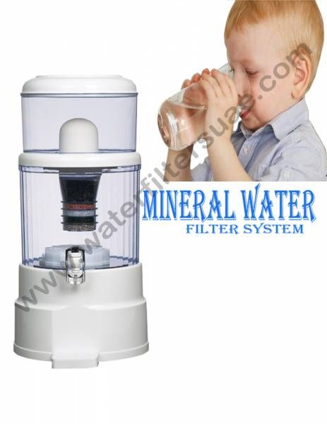 Counter Top Mineral Water Purifier Water Purifier Mineral Water Shower Filter