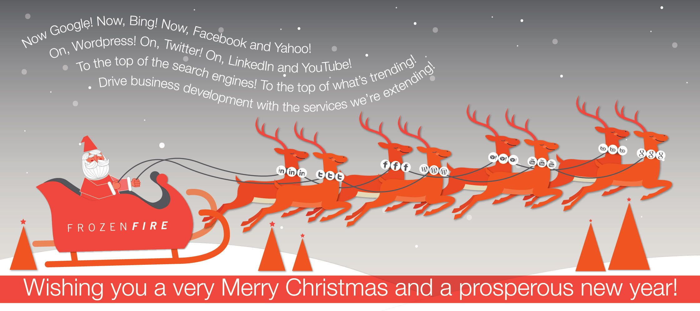 Digital Business Christmas Cards Image collections - Card Design And ...