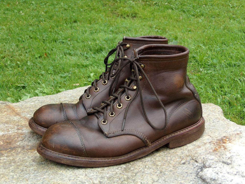 49b104cc07b Details about Chippewa L.L. Bean Men's Katahdin Iron Works Oxford ...