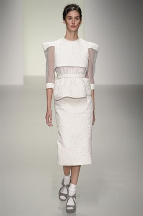 London Fashion Week September 2013 - Bora Aksu Spring/Summer 2014