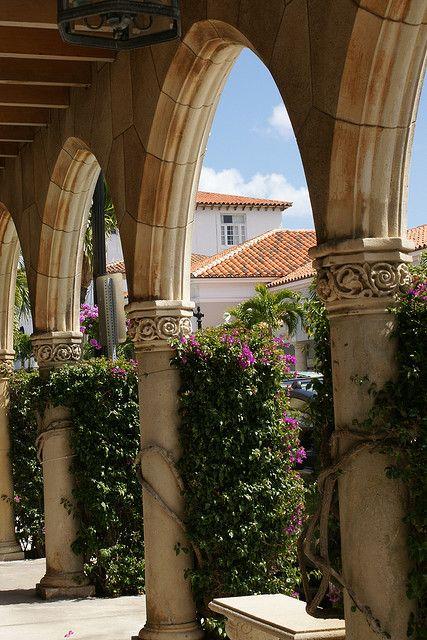 Worth Avenue Palm Beach Gardens Florida Decor Travel