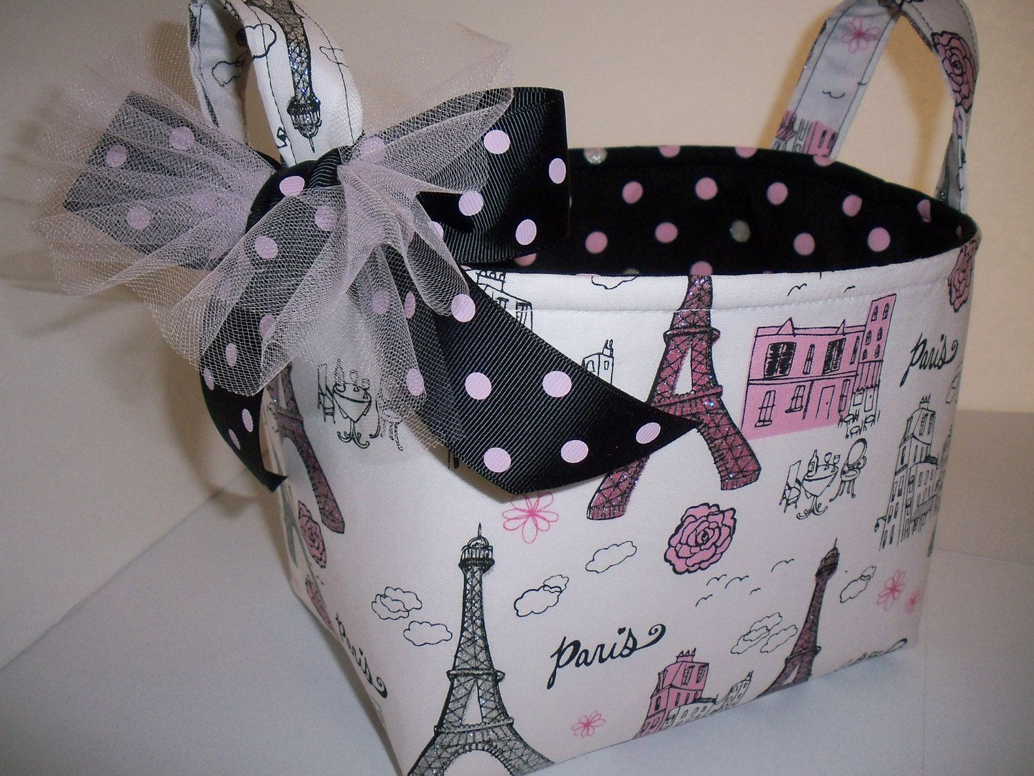 Eifel Tower  Paris Organizer bucket