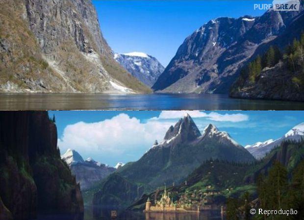 Gudvangen, Noruega - Frozen: Uma Aventura Congelante
