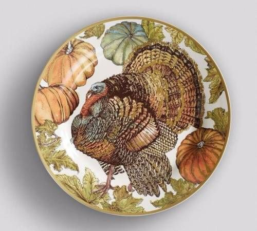 Pottery Barn set of 8 HERITAGE TURKEY DINNER PLATES New in boxes Thanksgiving & Pottery Barn set of 8 HERITAGE TURKEY DINNER PLATES New in boxes ...