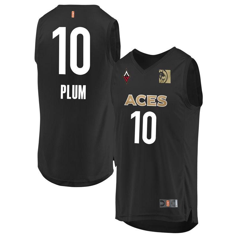 Kelsey Plum Las Vegas Aces Fanatics Branded Youth 2018 Replica ...