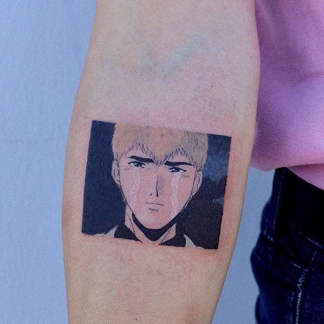 "STUDIOBYSOL_log on Instagram: ""GTO (1998) . . . . . #tattoo #drawing #anime #oldanime #90s #retro #aesthetic #illustration #design #sketch #gto #analog #vintage #work #타투…"" -  GTO (1998) . . . . . #tattoo #drawing #anime #oldanime #90s #retro   - #1998tattoo #90s #aesthetic #analog #anime #Design #drawing #GTO #illustration #Instagram #oldanime #Retro #sketch #STUDIOBYSOLlog #Tattoo #vintage #Work #타투"