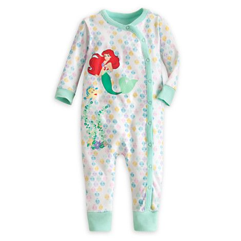 fc7020c850 Ariel Footless Stretchie Sleeper for Baby